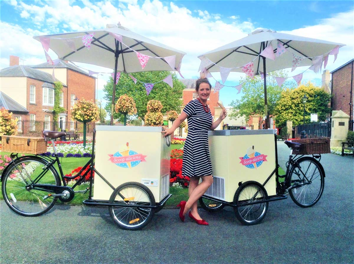 Oswestry Vintage Ice Cream Tricycle