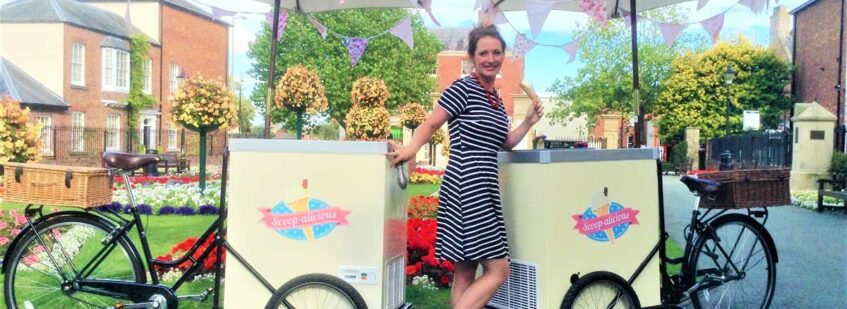 Vintage Ice Cream Tricycle